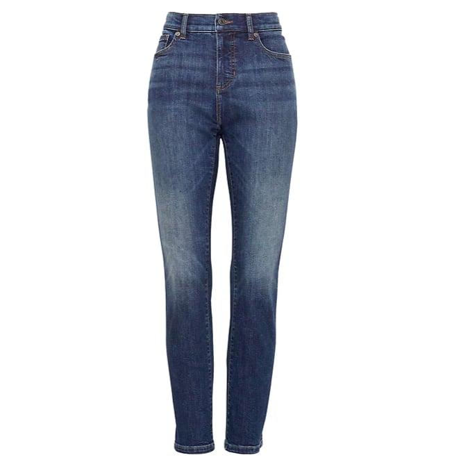Slim Straight Dark Wash Jean