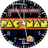 Pac-Man Frameless Borderless Wall Clock