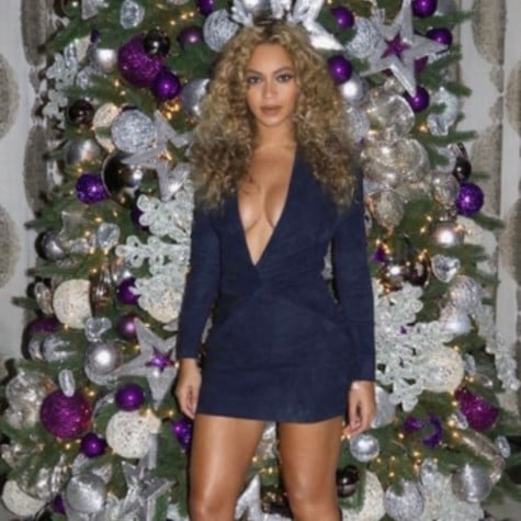 Beyonce Christmas Instagram Video December 2016