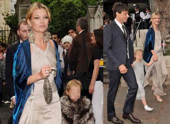 Kate Moss, Jamie Hince, Lila Hack Attend Leah Wood's Wedding