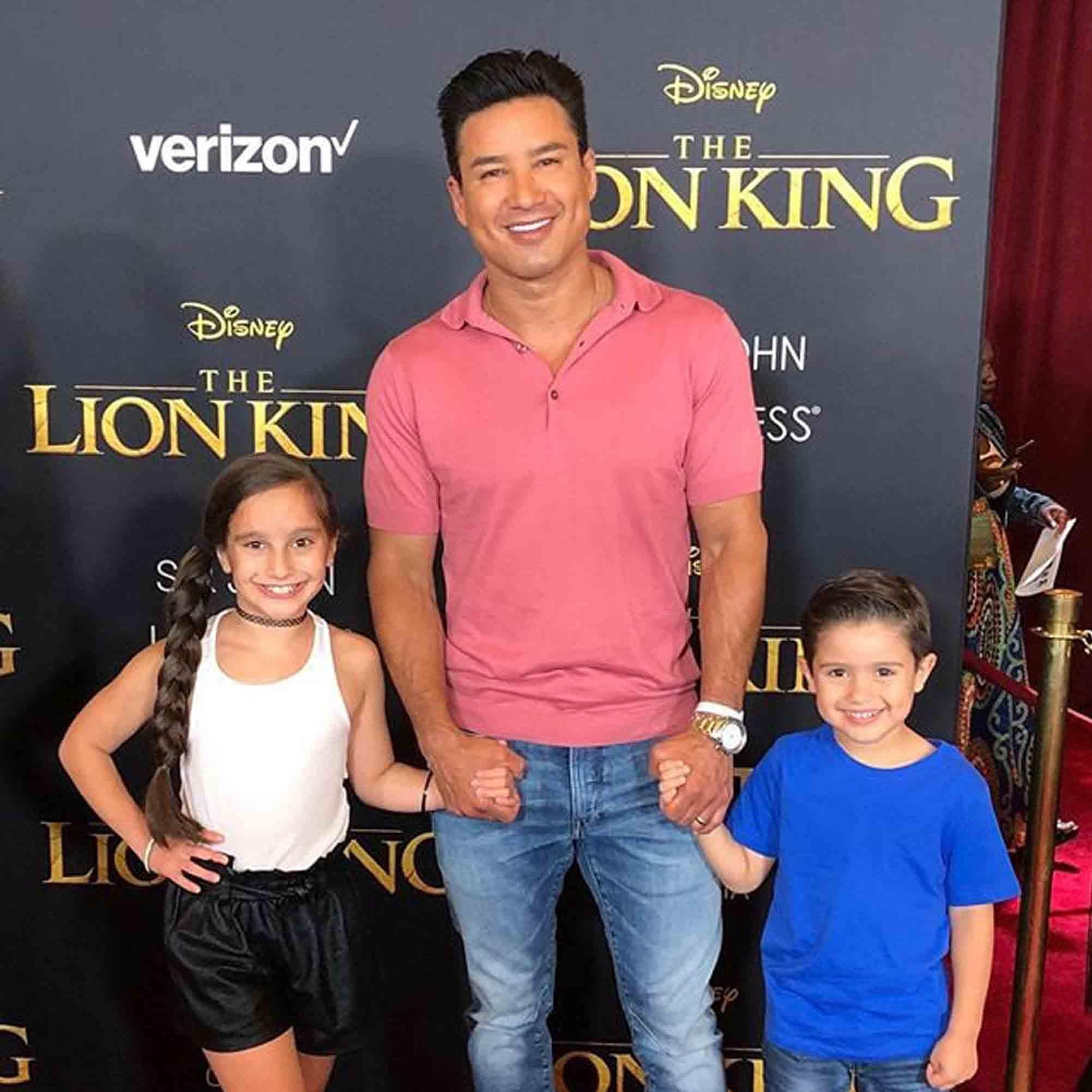 How Many Kids Does Mario Lopez Have Popsugar Uk Parenting