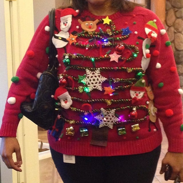 The Diy Queen Who Used Real Flashing Christmas Lights