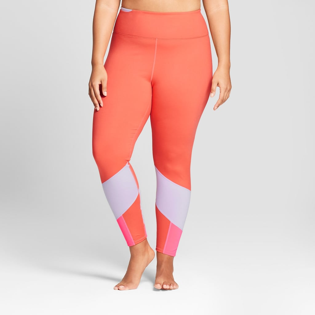 22397577c5ce6 JoyLab Comfort 7/8 Color Block Leggings | Best Plus-Size Activewear ...