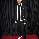 Jared Leto attended the LA Film Critics Association Awards in LA on Saturday.