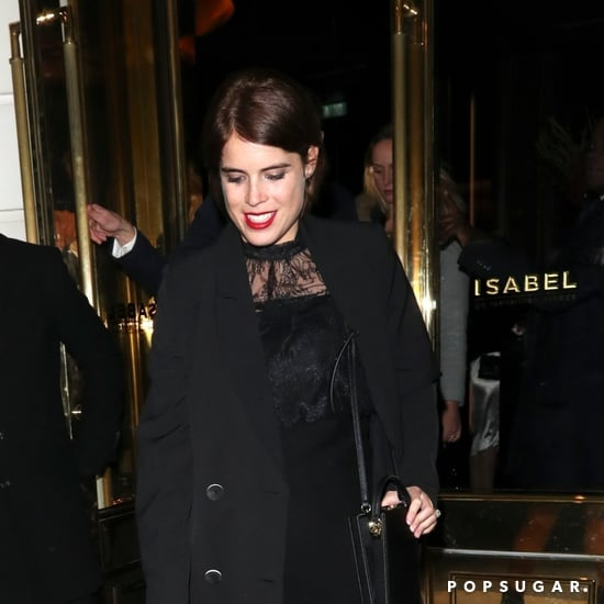 Princess Eugenie Wears Black Dress to Casamigos Party 2018