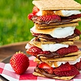 Chocolate-Covered Strawberry S'mores