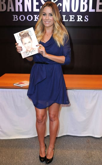Lauren Conrad Signing Copies of Style and Sugar and Spice in LA