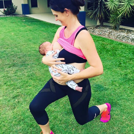 Breastfeeding While Working Out Photo