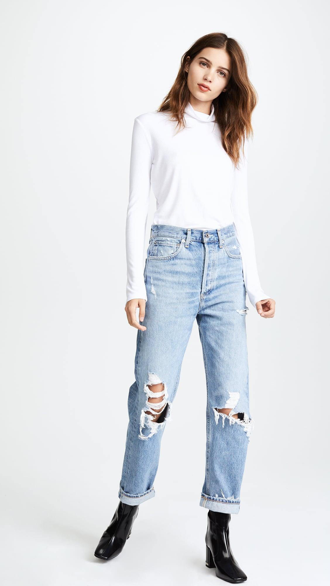 Outfit boyfriend summer jeans Boyfriend Jeans
