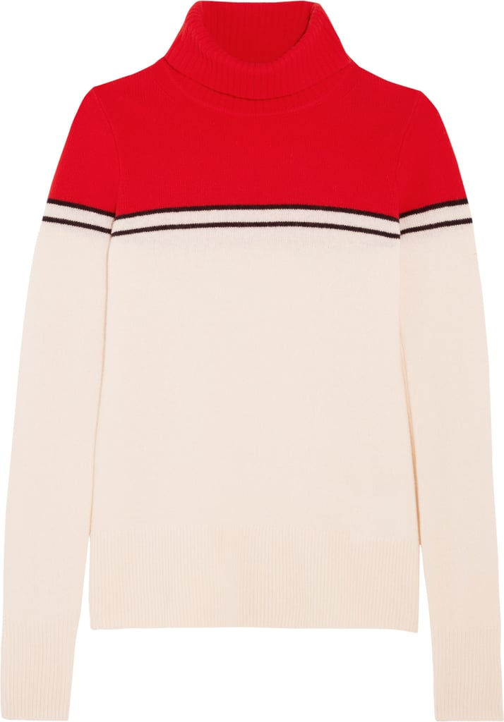 Gadzooks Color-Block Wool Turtleneck Sweater ($90)