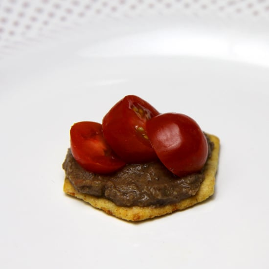 Black Bean Dip With Cherry Tomatoes