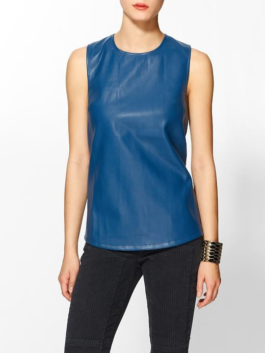 Smart shoppers know the value of stocking up on layer-friendly pieces like this blue Tinley Road shell ($35, originally $59).