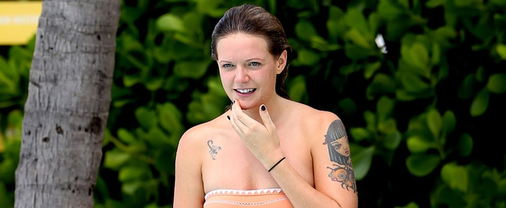 ​Tove Lo Enjoys a Relaxing Day by the Pool in Miami Beach
