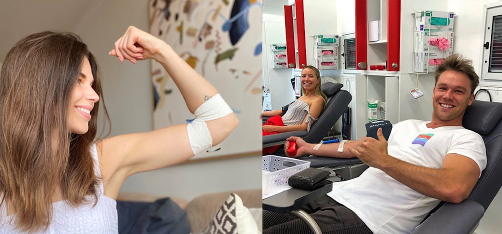 Donating Blood In April 2020