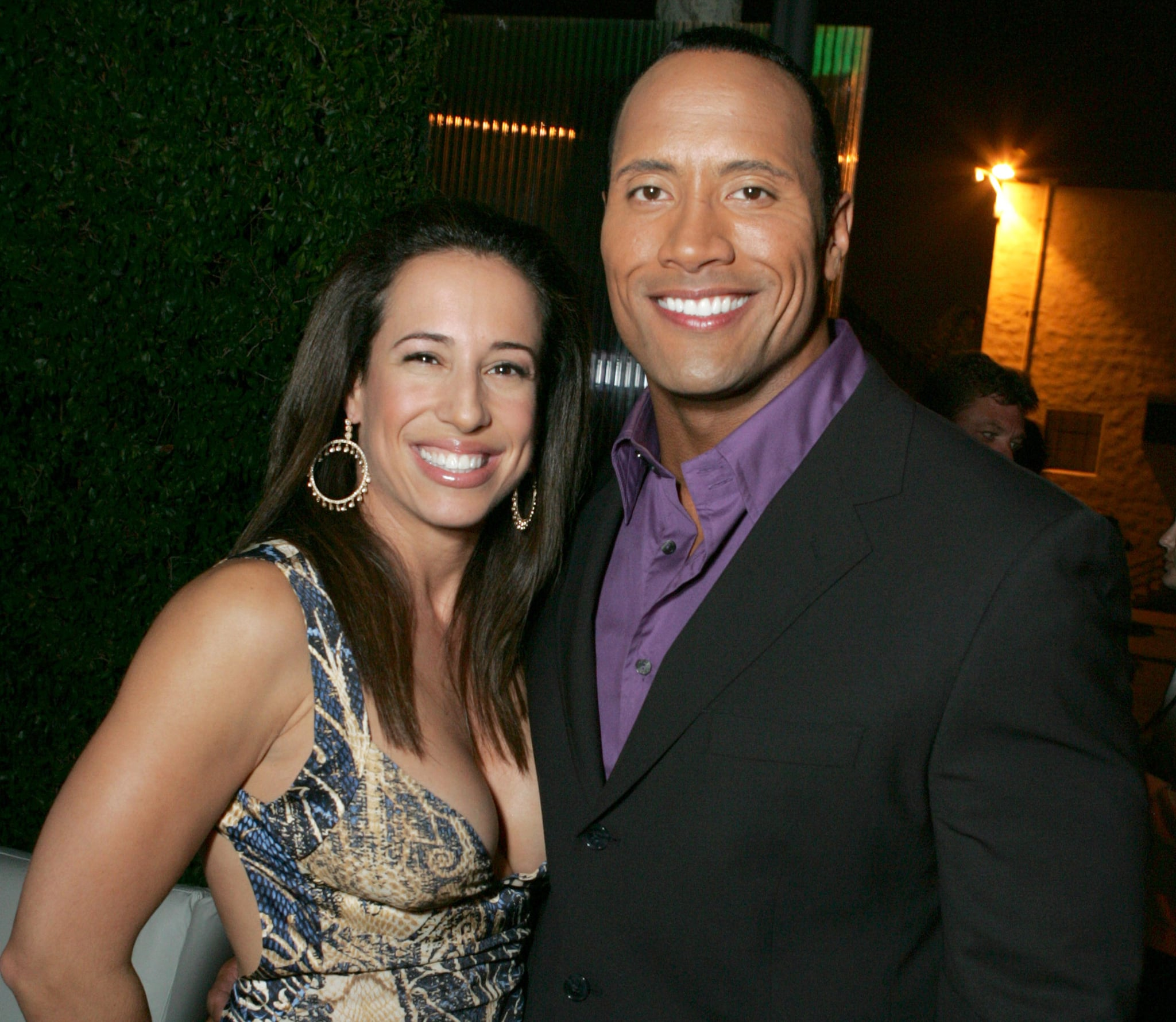 Who is dwayne johnsons ex wife dany garcia popsugar celebrity before dwayne johnson ever found love with lauren hashian he was once married to his college sweetheart dany garcia m4hsunfo