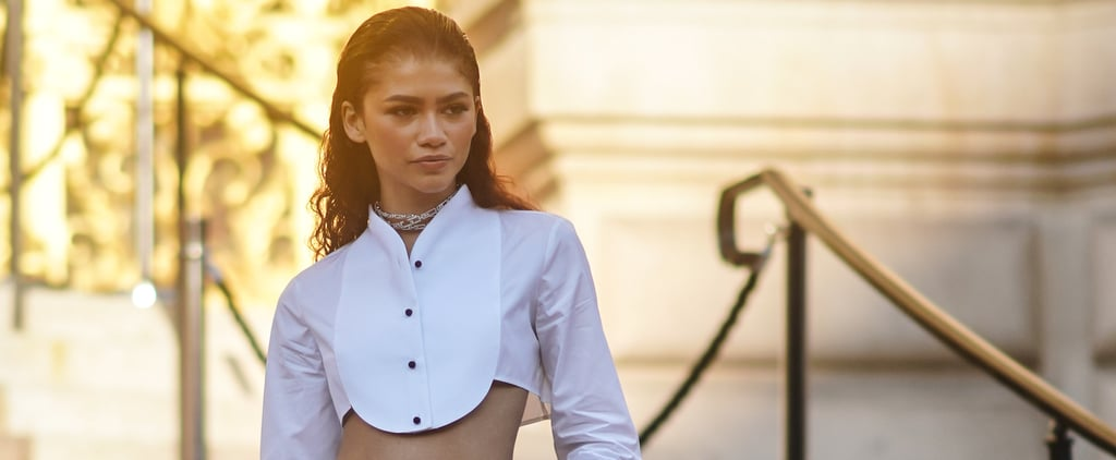 Zendaya's Armani Suit at Paris Couture Fashion Week 2019