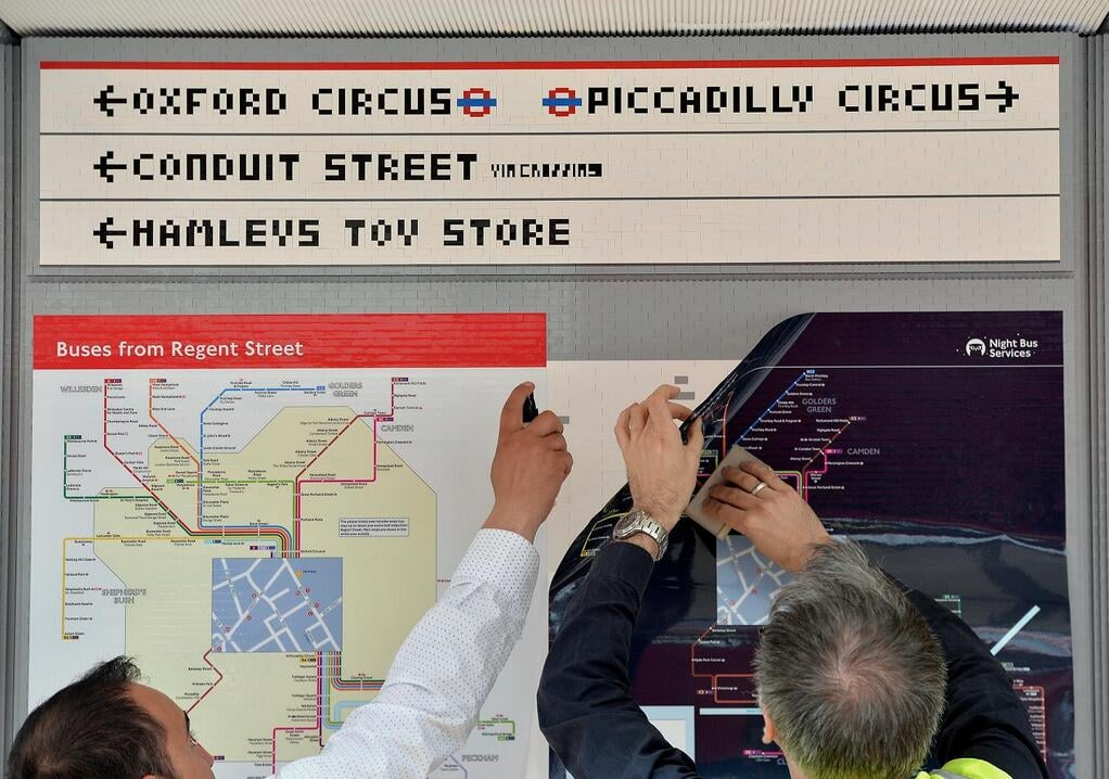 Source: Twitter user Transport for London