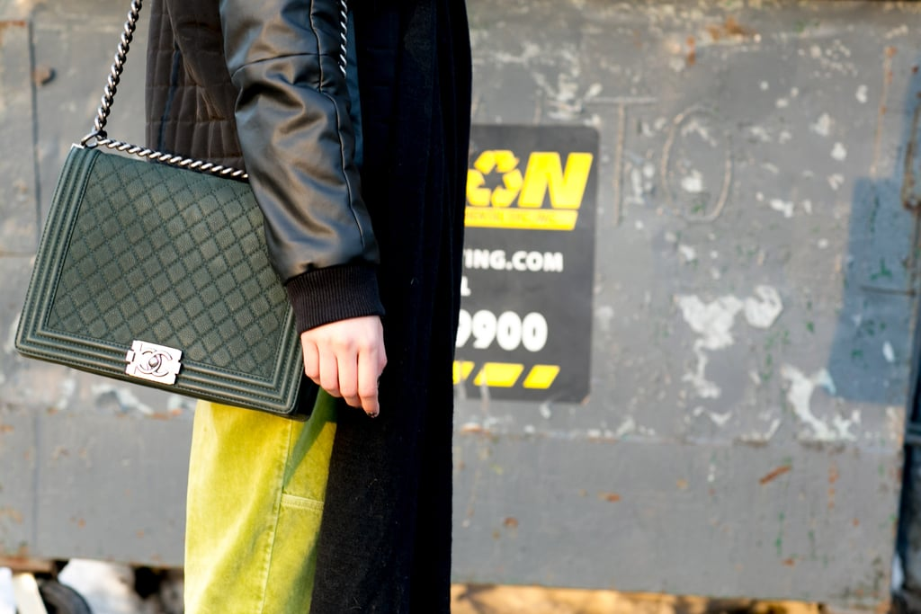 You can never go wrong with a Chanel bag in tow.