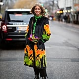 Stand Out in a Colorful Coat