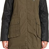 I love anything convertible, especially for travel, so this Ashley B Two in One Coat ($995) is like an answer to my holiday travel prayers. The army anorak and the puffy jacket look equally cute on their own, but you can layer them for a warm and practical approach. One coat, three looks for three different temperatures. Sold! — MLG