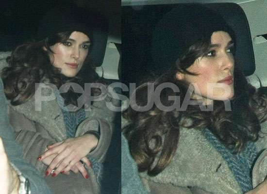 Photos of Keira Knightley at Rehearsals For The Misanthrope in London