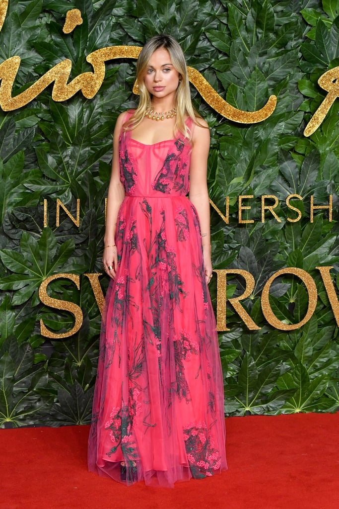 Lady Amelia Windsor British Fashion Awards Red Carpet