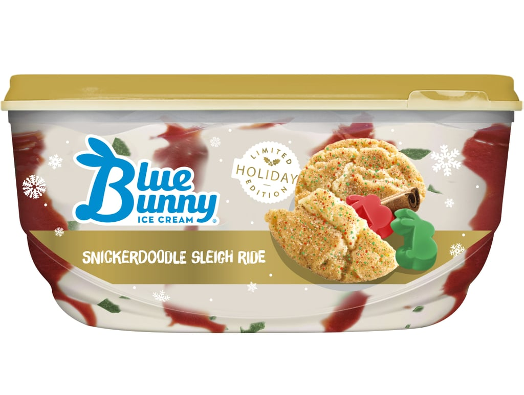 Blue Bunny Snickerdoodle Sleigh Ride Ice Cream