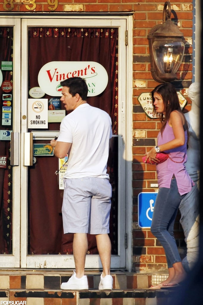 Mark Wahlberg and Rhea Durham kept it casual on a date night in New Orleans.