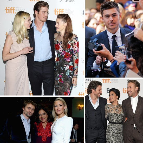Celebrities at the Toronto Film Festival 2012
