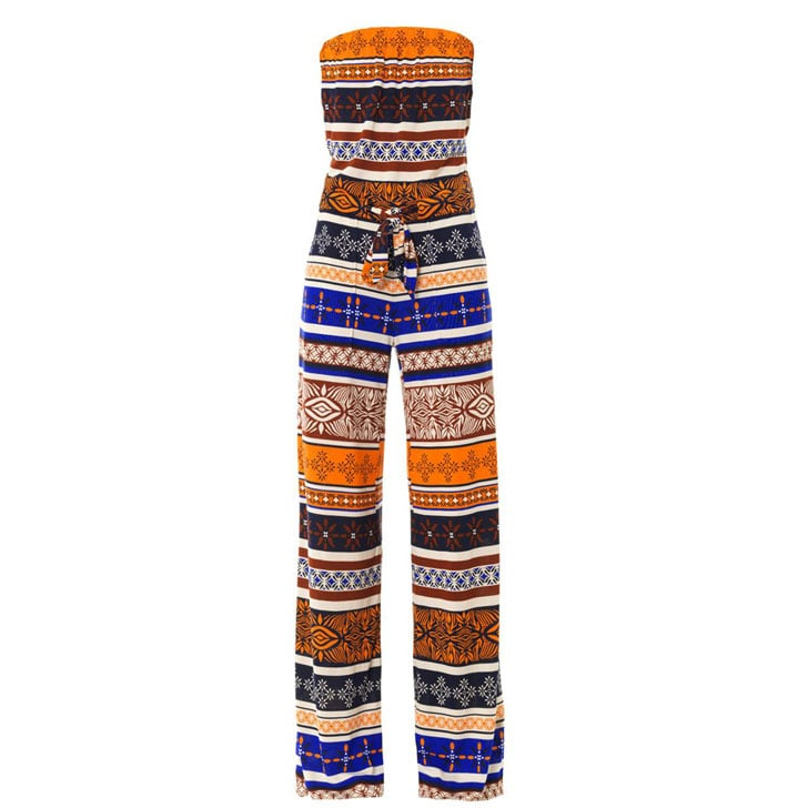A Printed Jumpsuit