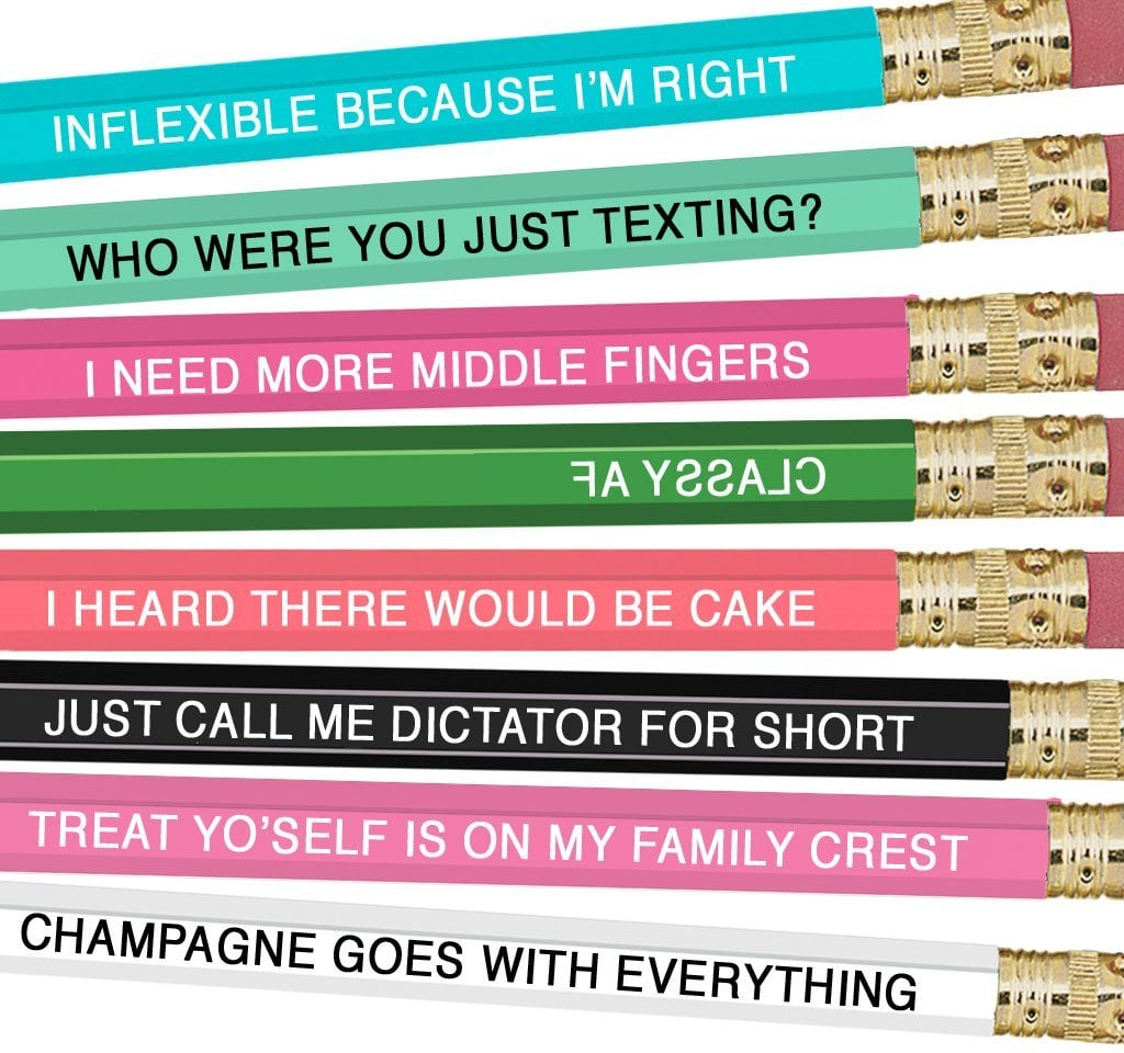 Zodiac Sign Pencils | POPSUGAR Love & Sex