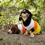 Candy Corn Dog Sweater
