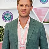James Norton at Day 11 of Wimbledon