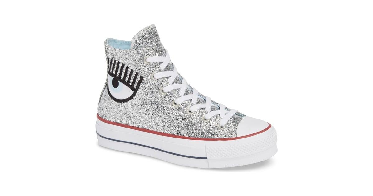 db4d61eedffc Converse x Chiara Ferragni 70 Hi One Star Glitter Platform Sneaker ...