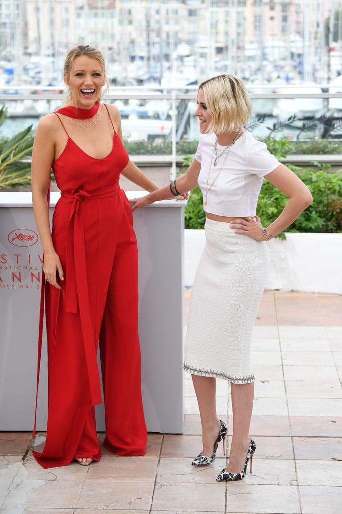 Blake Lively Kristen Stewart at Cannes Film Festival 2016