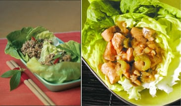 Chicken Lettuce Wraps Two Ways — Beginner and Expert