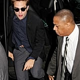 Robert Pattinson Keeps His Cool and Takes the High Road on GMA