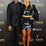 Yep! They're still together. The Bachelor couple Tim Robards and Anna Heinrich attended the AACTA Awards, with Anna picking a midriff-baring outfit by local label Aje.