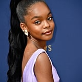 Marsai Martin's High Ponytail