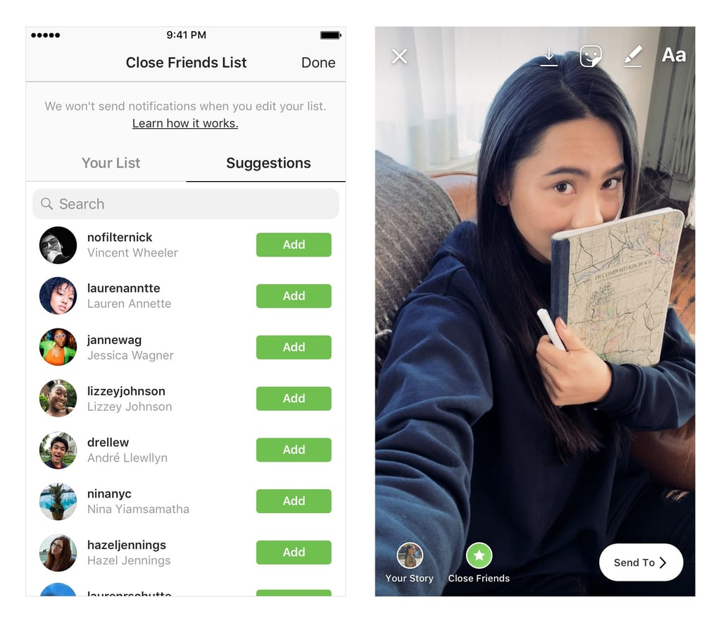 How to Use Instagram Stories Close Friends Feature