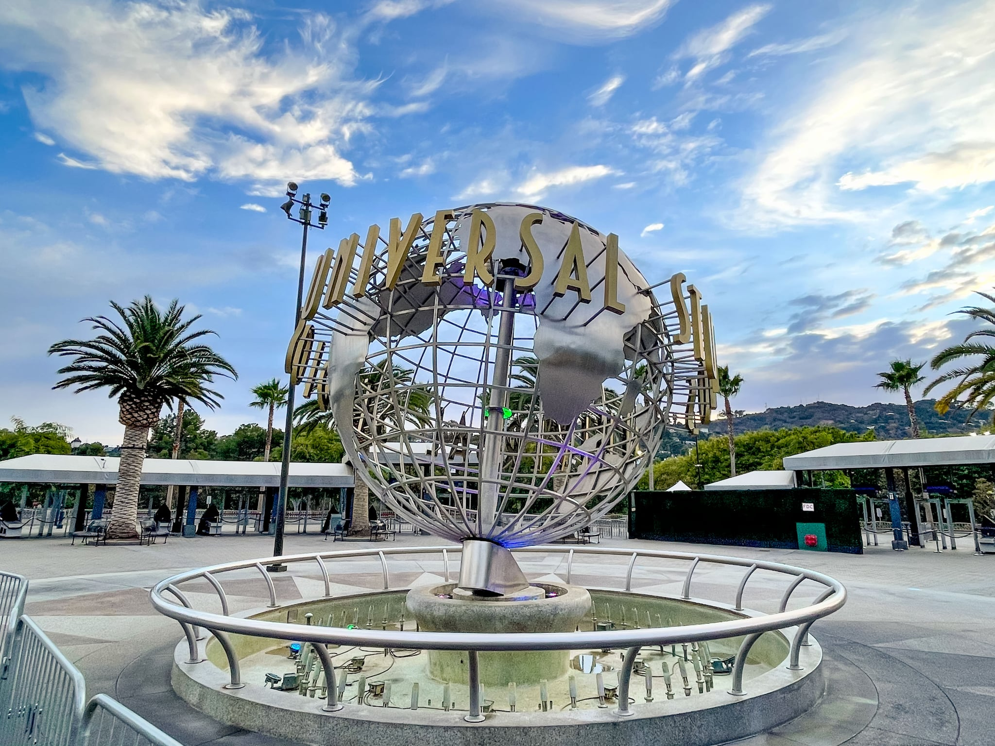 UNIVERSAL CITY, CA - DECEMBER 24: General views of Universal Studios Hollywood on December 24, 2020 in Universal City, California.  (Photo by AaronP/Bauer-Griffin/GC Images)