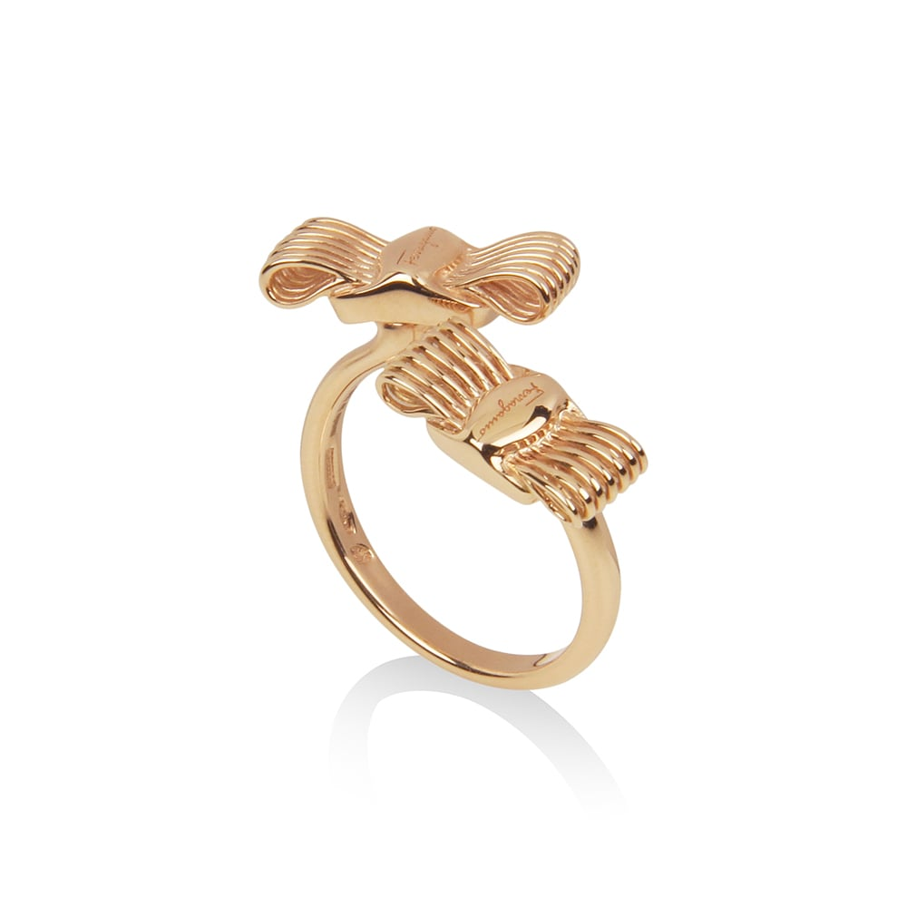 A ring from Salvatore Ferragamo's Hollywood collection. Photo courtesy of Salvatore Ferragamo