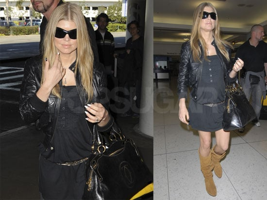 Fergie Still Has Us Searching For Baby Bump