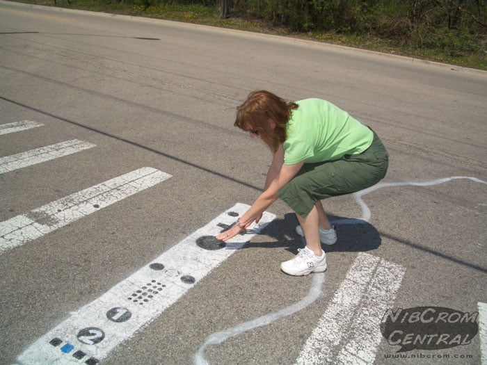 Oh Me Oh My: Wii Controller Street Art