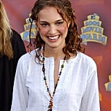 In 2002, Natalie sported a curly, kinky hairstyle at the MTV Movie Awards.