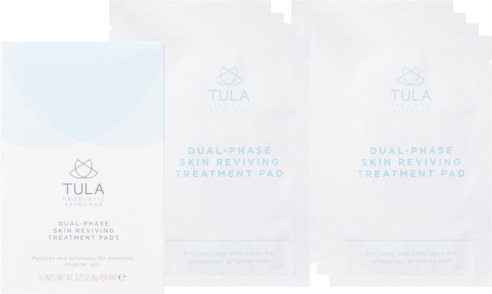 TULA Skincare Dual-Phase Skin Reviving Treatment Pads