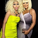 Nicki Minaj and Christina Aguilera