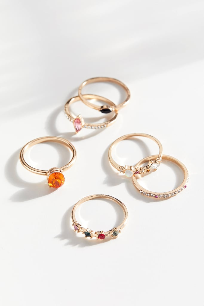 Sera Stone Ring Set