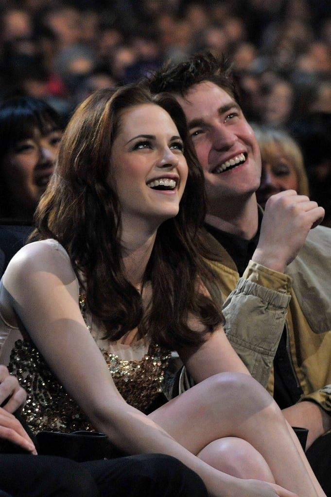 Kristen Stewart and Robert Pattinson enjoyed the show together in 2011.