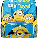 "Minions ""Say Eye"" Backpack and Lunchbox"